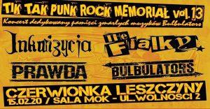 MOK Czerwionka-Leszczyny: TIK TAK PUNK ROCK MEMORIAŁ VOL. 13