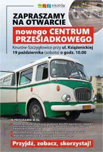 Knurów: Otwarcie Centrum Przesiadkowego Knurów-Szczygłowice