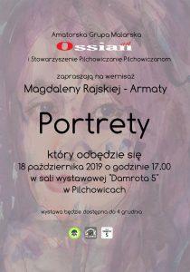 """Pilchowice: Wernisaż Magdaleny Rajskiej-Armaty """"Portrety"""""""