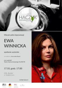 Gliwice: Spotkanie autorskie z Ewą Winnicką oraz spektakl NON-FICTION