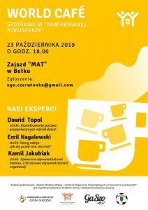 Czerwionka-Leszczyny: World Café 2019!