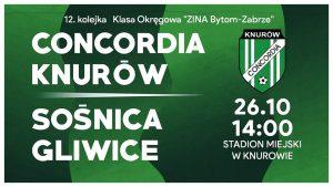 Concordia Knurów vs Sośnica Gliwice
