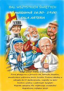 Ornontowice: Bal Wszystkich Świętych