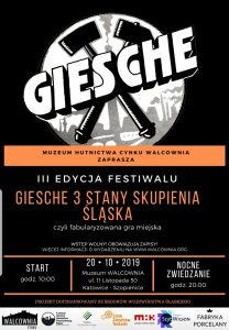 Kultura: Festiwal Giesche III stany skupienia Śląska