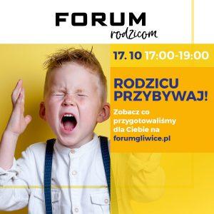 """CH Forum Gliwice: Warsztaty """"Jak poskromić dziecięcy gniew?"""""""