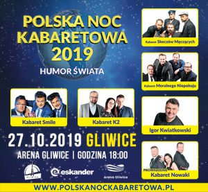 Arena Gliwice: Polska Noc Kabaretowa 2019