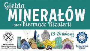 Gliwice: Giełda Minerałów i Biżuterii na wydziale Górnictwa i Geologii Politechniki Ślaskiej
