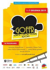 Gliwice: XIII GLIWICKI OFFOWY FESTIWAL FILMÓW RÓŻNYCH GOFFR (WARSZTATY Z PANEM TOTIM)