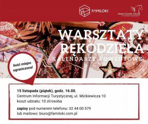 Czerwionka-Leszczyny: Warsztaty rękodzieła