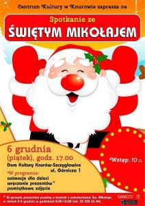 Knurów: Spotkanie ze Świętym Mikołajem w Domu Kultury