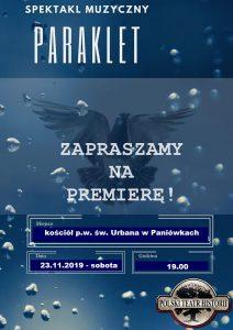 Paniówki: Spektakl muzyczny p.t. PARAKLET