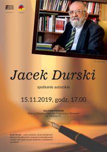 Gliwice: Wieczór z Jackiem Durskim w bibliotece