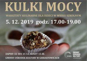 GOK Gierałtowice: Kulki Mocy - warsztaty kulinarne dla dzieci