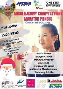 Knurów: Mikołajkowy Charytatywny Maraton Fitness Ćwiczymy dla Zosi