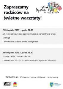 """Gliwice: Spotkanie w ramach projektu """"Sztuka lepszego życia – czytając siebie"""""""