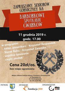 Arteria Ornontowice: Barbórkowe Spotkanie Gwarków