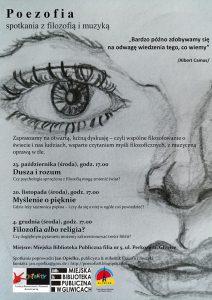 """Gliwice: """"Poezofia - spotkanie z filozofią i muzyką"""""""