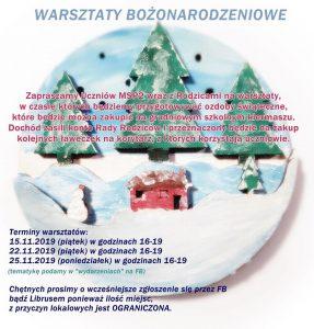 Knurów: Warsztaty bożonarodzeniowe w MSP2
