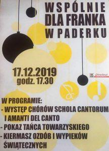 Knurów: Koncert – wspólnie dla Franka w Paderku