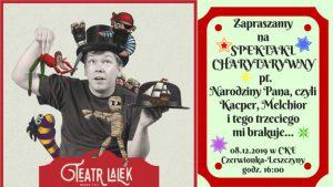 Czerwionka-Leszczyny: Świąteczny Spektakl Charytatywny dla Maksia Podlejskiego