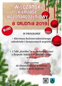 DK Wilcza: Wilczański Kiermasz Bozonarodzeniowy