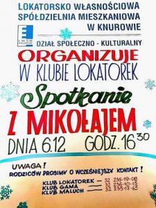 Knurów: Spotkanie z Mikołajem w LWSM