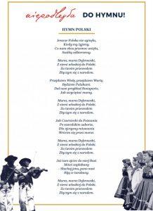 Śpiewamy hymn w Ornontowicach!