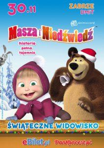 DMiT Zabrze: Masza i Niedźwiedź. Historia Pełna Tajemnic