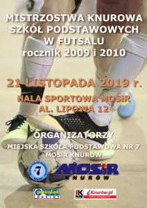 Knurów: Mistrzostwa Knurowa Szkół Podstawowych w futsalu