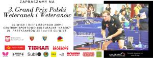 Gliwice: 3. Grand Prix Polski Weteranek i Weteranów w Tenisie Stołowym