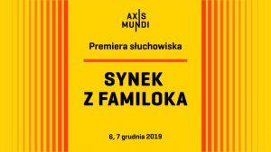 """Ornontowice: Premiera słuchowiska """"Synek z familoka"""" na podstawie książki i wspomnień Gintera Pierończyka"""
