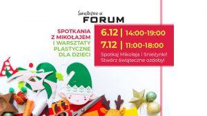 CH Forum Gliwice: Warsztaty plastyczne