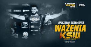 Arena Gliwice: KSW 52 - oficjalna ceremonia ważenia
