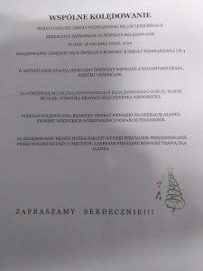 Czerwionka-Leszczyny: Wspólne kolędowanie na rzecz Alanka