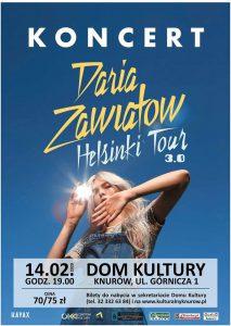 Knurów: Walentynkowy koncert Darii Zawiałow
