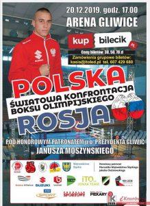 Arena Gliwice: Światowa konfrontacja boksu olimpijskiego Polska vs Rosja