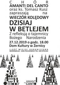 DK Żernica: Wieczór kolędowy