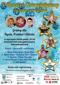 Gierałtowice: V Koncert Charytatywny Uskrzydleni i Przyjaciele