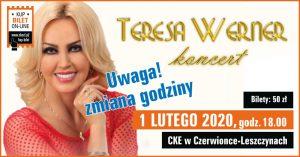 CKE Czerwionka-Leszczyny: Teresa Werner- koncert