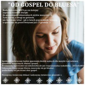 """Knurów: """"Od Gospel do Bluesa"""" muzyczne spotkanie w Kino Scena Kultura"""