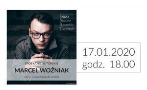 Gliwice: Spotkanie z Marcelem Woźniakiem w Bibliotece