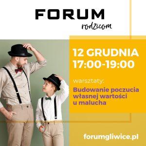 Gliwice: Budowanie poczucia własnej wartości u malucha w CH Forum