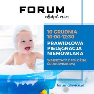 Gliwice: Forum Młodych Mam - Prawidłowa pielęgnacja niemowlaka w CH Forum
