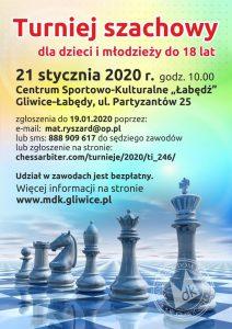 Gliwice: Ferie z szachami