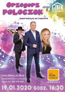 DK Żernica: Koncert Grzegorza Poloczka
