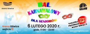 Arena Gliwice: Bal Karnawałowy dla Seniorów