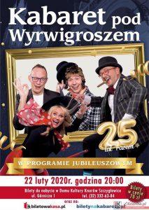 Knurów: Kabaret pod Wyrwigroszem - Jubileuszowy Program 25-lecie
