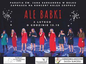 Czerwionka-Leszczyny: Koncert kolęd zespołu Ale Babki