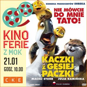 """CKE Czerwionka-Leszczyny: Film """"Kaczki z gęsiej paczki"""""""