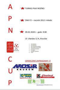 Knurów: APN CUP r. 2012 – turniej piłki nożnej